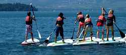 Encadrement  Stand up paddle