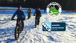 E-Fat Bike sur les bords du Giffre