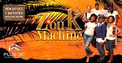 Concert Live : Zouk Machine