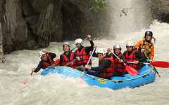 Rafting Passy-Sallanches - Mountain access
