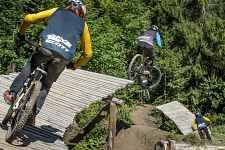 Piste VTT la Black Shore