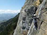 Via Ferrata - Dent du Chat