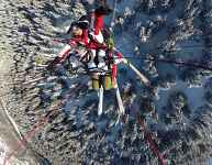 Vol sensation en parapente